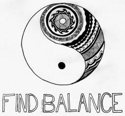 Yin Yang Find Balance