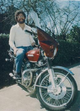 Bob's Honda K4 Motorcycle 1980 Enhanced